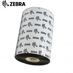 Cinta de Transferencia Termica Zebra 110x450 cera linea 2000