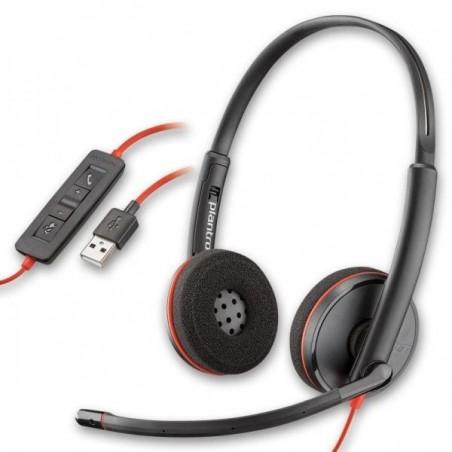 Auricular con microfono Poly (ex Plantronic) BlackWire C3220